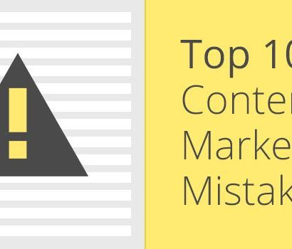 Top 10 Content Mistakes Made on Amateur Websites